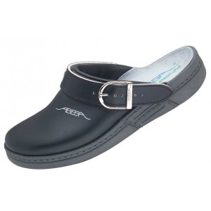 men's and women's clog black