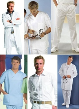 Medical                 Clothing - Men