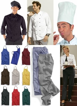 Chef and                 restaurant wear